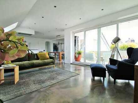 Mehr als nur ein Unikat - DG Maisonette auf 150m² mit Loggia und Garten
