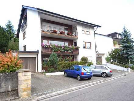 Renovierte gemütliche 1-Raum-DG-Wohnung mit Balkon in Bad Bergzabern