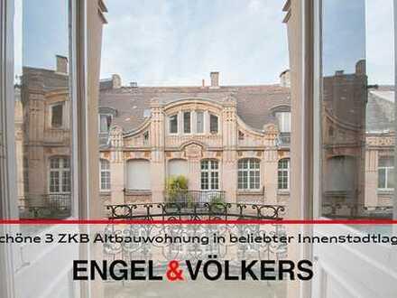 Schöne 3 ZKB Altbauwohnung in beliebter Innenstadtlage!