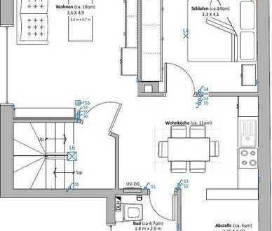 Schöne modern ausgestattete Dachgeschoss-Wohnung in Düngenheim zu vermieten