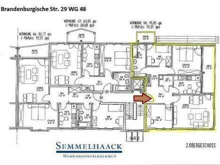 Familien aufgepasst / Freundliche und zusagende 4 Zimmer Wohnung im 2.OG mit Balkon & Loggia