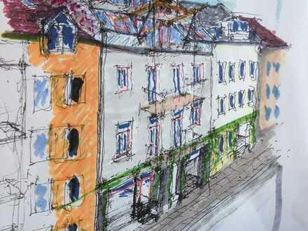 Hochwertig kernsanierte 4-Zimmer-Wohnküche-Diele- 2 Bäder-Altbauwohnung mit Terasse und Balkon