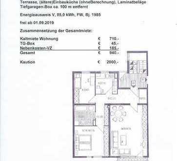Gepflegte 3-Zimmer-EG-Wohnung mit Balkon in Neumarkt in der Oberpfalz