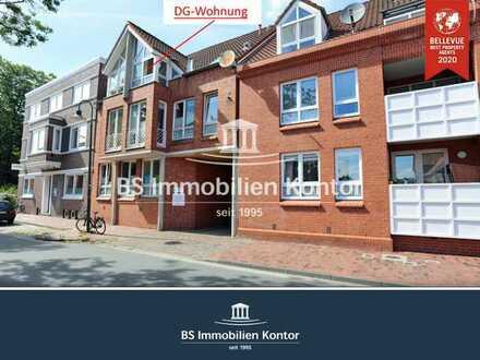Stadtgebiet! Vermietete DG-Wohnung mit PKW-Einstellplatz in zentraler Wohnlage!