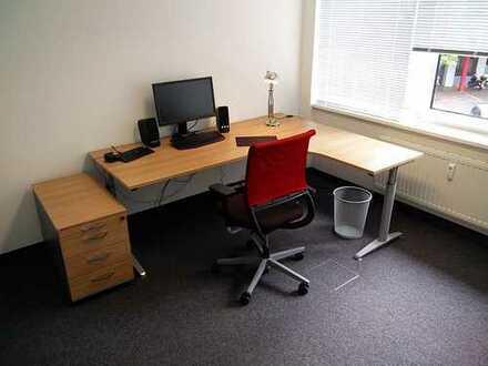 Helles Büro direkt im Pontviertel, vollmöbliert, inkl. Besprechungsraum, Start-Ups und Freiberufler