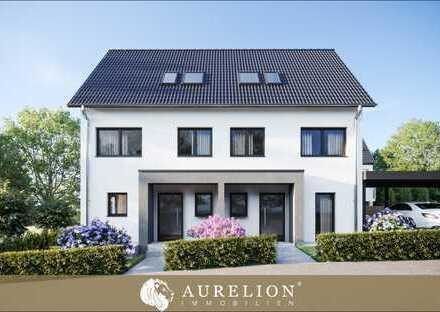 """NEUBAU PROJEKT """"OW49"""" Wohnen mit Doppelhauscharakter Terrasse & Gartenanteil"""