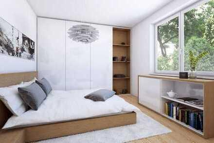 Helle Neubau-2-Zimmer-Wohnung mit Balkon