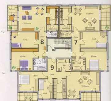 Vollständig renovierte 3-Zimmer-Wohnung mit Balkon in Köln - Weiden
