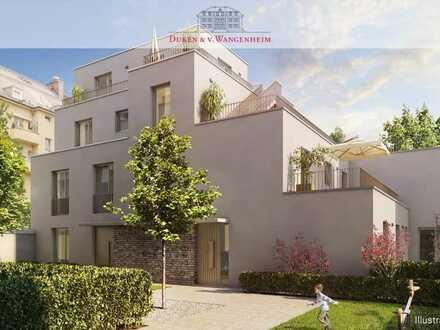 Terrassen-Traum mitten in Schwabing. Moderne Neubau-Wohnung.
