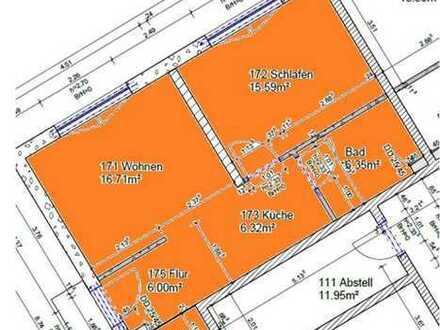 2-Zimmer-Erdgeschosswohnung (barrierefrei) mit Terrasse in Seniorenwohnanlagen im Grünen