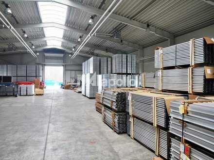Lager-/Produktionsfläche | Kranbahn (5t) | gepflegtes Objekt