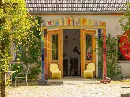 Modernes gemütliches Restaurant 80 Meter zum Werbellinsee + Strand