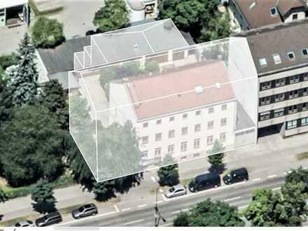 MAIER - Vorbescheid für Neubau! Baugrundstück für ein Wohn- und Geschäftshaus mit TG