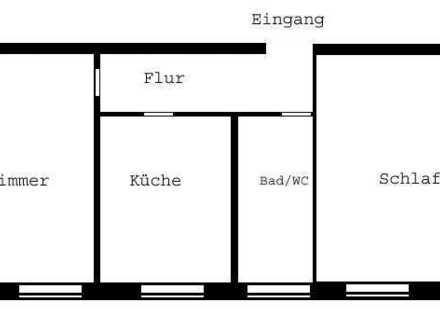 Helle 2-Zimmer-Wohnung in der Nürnberger Südstadt zu vermieten