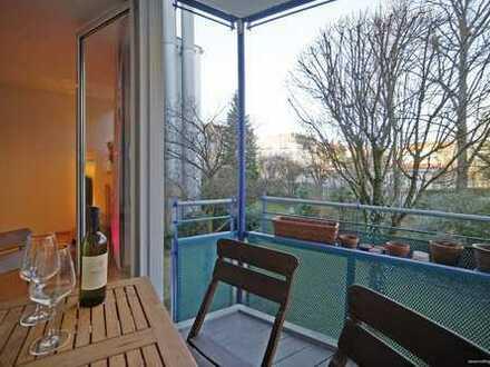 München-Sendling! Ruhig gelegenes 1-Zimmer-Appartement mit Balkon in sehr gepflegter Wohnanlage.