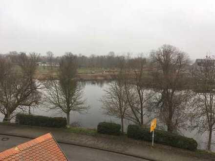 Komplett möblierte 3-Zimmer-DG-Wohnung mit Einbauküche in Havelberg