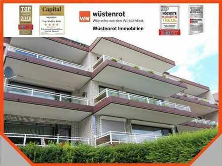 Duisburg-Wanheimerort: schicke Dachgeschosswohnung in top gepflegtem Mehrfamilienhaus.