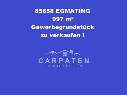 997 m² Gewerbegrundstück für Investoren & Projektentwickler in Top Lage - 85658 Egmating