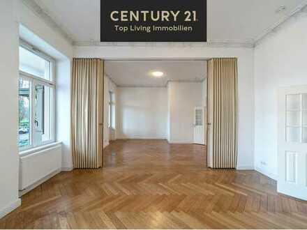 3D-Rundgang -LUXUS STILALTBAU! 4-Zimmer-Wohnung mit große Terrasse