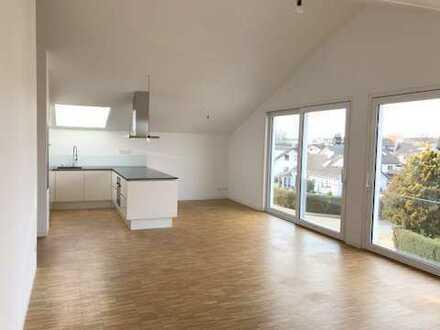 Hochwertig ausgestattete 3,5 Zimmer Dachgeschosswohnung mit Flair in Altshausen.