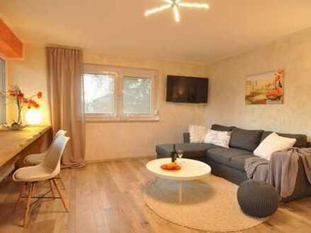 Teilmöblierte 2-Zimmer-Wohnung im erhöhten Erdgeschoss