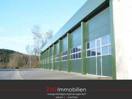 Gewerbe mit 2 Hallen und Freifläche in Reichshof zu verkaufen! ZVG Immobilien