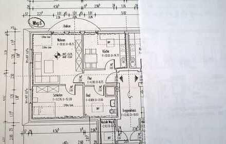 Schöne 2-Zimmer DG-Wohnung zu vermieten