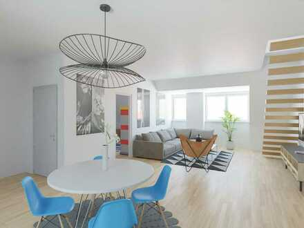 Erstbezug nach Modernisierung: Maisonette Wohnung im wunderschönen Stuttgarter Westen