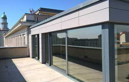 Exklusives Penthouse mit Terrasse zu allen offenen Seiten/Weitblick über Berlin/Top-Lage