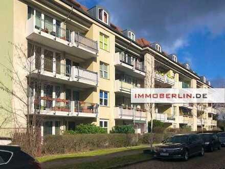 IMMOBERLIN: Sehr angenehm positionierte Wohnung mit Südterrasse