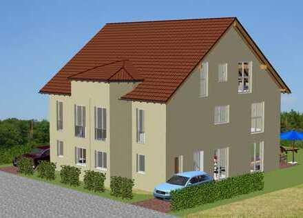 Neubau Doppelhaushälfte mit Kaufgrundstück