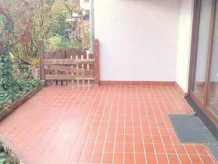 SANDHAUSEN! 2-ZKB mit Terrasse und Zugang zum Garten