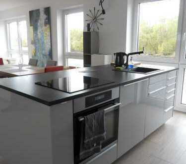 Neuwertige 2-Zimmer-Terrassenwohnung mit Balkon und EBK in Bremen