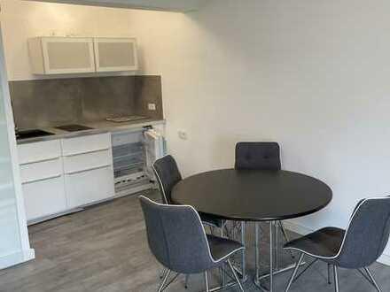 Sanierte Wohnung in ruhiger Lage mit Einbauküche