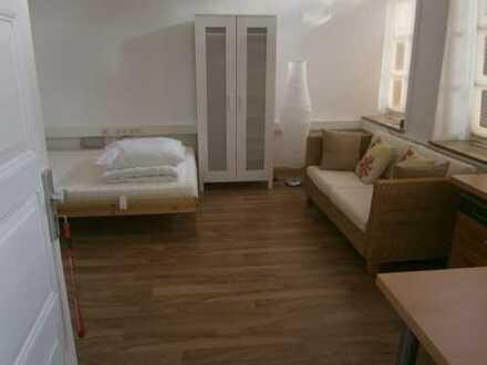 Altstadt: möbliertes Appartement - ab 1. April verfügbar. Nur Vermietung auf Zeit.