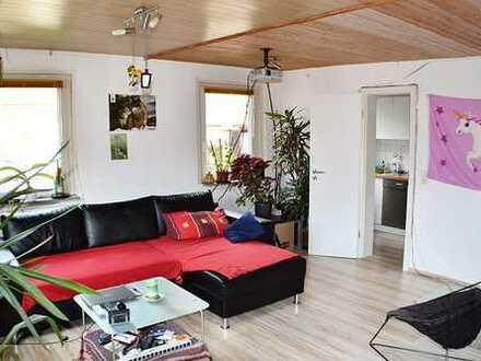 3-Zi.-Maisonette-Wohnung an der Enz, mit Blick auf das Schloss von Neuenbürg