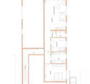 Erstbezug: schöne 3-Zimmer-Hochparterre-Wohnung mit EBK und Balkon in Wehingen