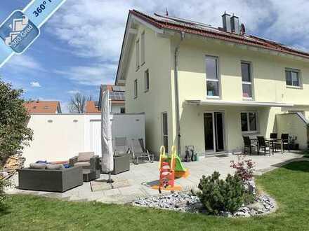 Ihr neues Zuhause in Gilching: Moderne Doppelhaushälfte mit sehr gehobener Ausstattung!