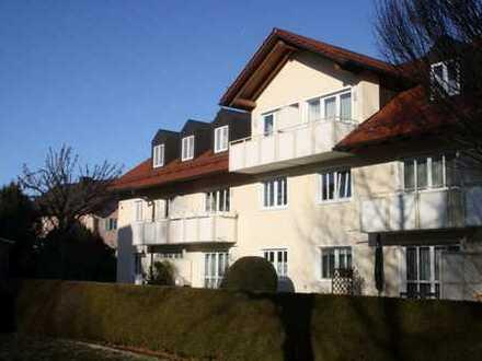 Sehr gepflegte 2-Zimmer-Dachgeschosswohnung in Ismaning