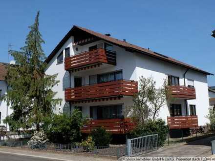 DG-Wohnung mit Südbalkon