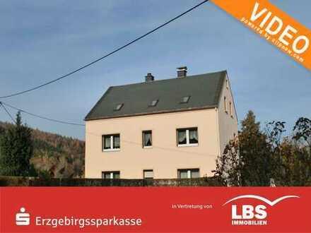 Ein- bis Zweifamilienhaus mit guter Bausubstanz