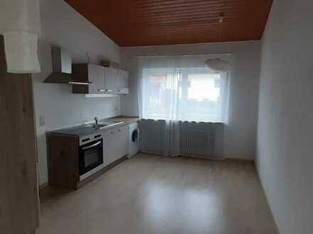Modernisierte 3-Raum-EG-Wohnung mit Einbauküche in Schopp