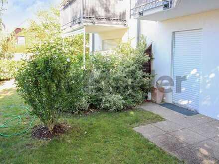 Vermietete EG-Whg. mit Terrasse und Garten in gepflegtem Wohnpark in Cottbus-Döbbrick
