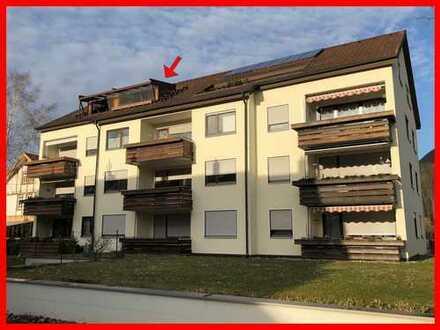 Gepflegte Dachgeschosswohnung in ruhiger Wohnlage!