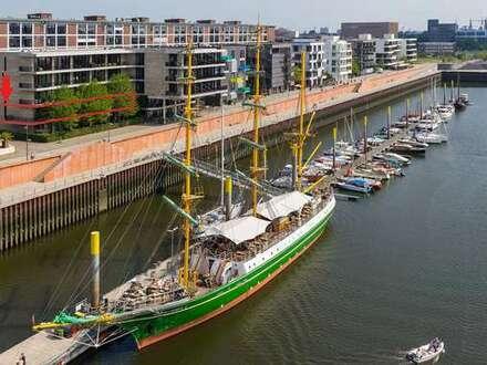 Repräsentatives 525 qm-Büro am Europahafen