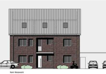 Borken - Neubau! Ruhige Lage! 4-Zimmer-Eigentumswohnung im Erdgeschoss mit Terrasse und Garten
