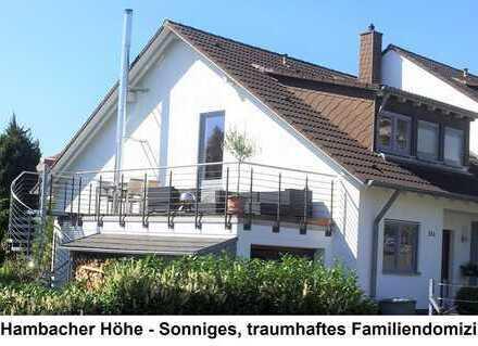 Hambacher Höhe - Sonniges, traumhaftes Familiendomizil