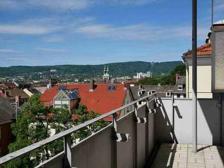 Zentrale 3,5-Zimmer-Wohnung mit Blick über Kassel