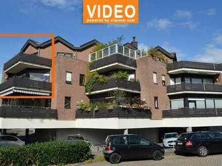 ** stadtnahes WOHNEN ** große Maisonette-Wohnung mit Balkon und Garage in Rheine