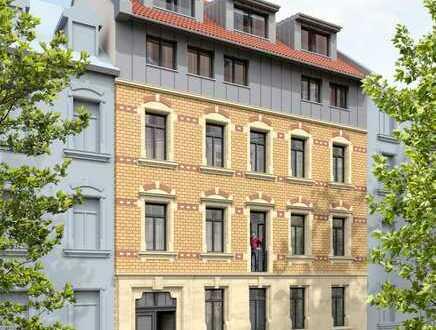 1 von 2 Maisonette-Eigentumswohnungen im Altbau, 4 Zimmer in KA/Weststadt